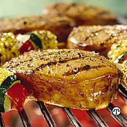 Herb Grilled Chops
