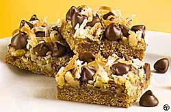 Scrumptious Chocolate Coconut Squares
