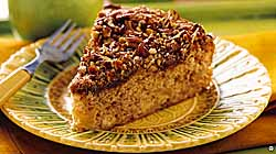 Cinnamon Apple Pecan Coffee Cake