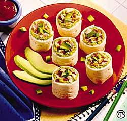 Grilled Chicken Avo-Wheelies