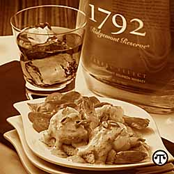 Spiced Shrimp With Ridgemont Reserve 1792 Bourbon