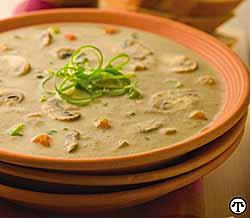Light N Creamy Fresh Mushroom Soup