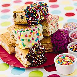 Ice Cream Sandwich Dips