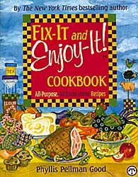 Fix-It and Enjoy-It! Cookbook