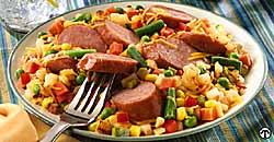 Smoked Sausage Skillet Dinner