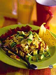 Mexican Avocado And Egg Scramble
