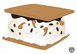 Ice Cream Creation S'mores