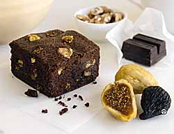 Fudgy Fig-Nut Brownies