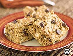 Peanut-Chip Cookie Bars