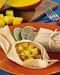 Sweet Mango Tamales