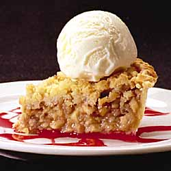 Apple Pie w/Cinnamon Ice Cream