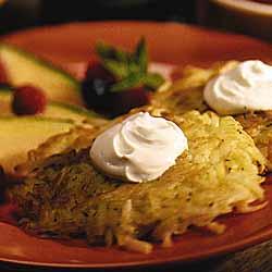 Cheddar Potato Pancakes