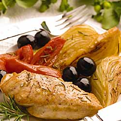 Tomato Fennel Braised Chicken