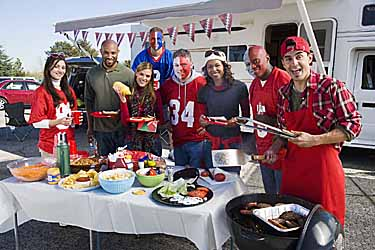 Tailgating? Menu Ideas that are Fun and Healthy