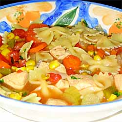 Healthy White Tea Chicken Soup