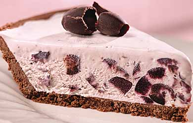 Sweet Cherry Cream Pie