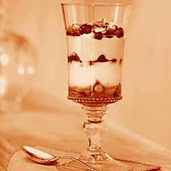 Pom, Honey And Pistachio Yogurt Parfaits