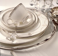 New Tableware Trends For Today's Bride and Groom