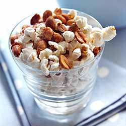 Chili Peanut Popcorn