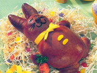 Chocolate Bunny Bread