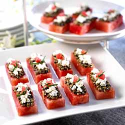 Watermelon Canape