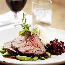 Brandied Prime Rib Roast Beef