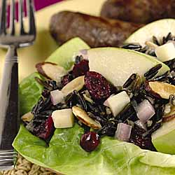 Wild Rice Cranberry-Nut Salad