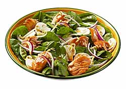 Warm Asian-Style Spinach Salad