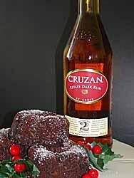 Cruzan Chocolate Rum Cake
