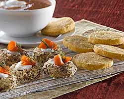 Rosemary Swiss Shortbread Bites