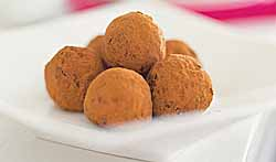 Swiss Chocolate Cream Truffles