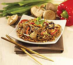 Healthy Harvest Asian-Style Linguine