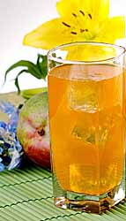 Iced Mango Passionfruit Herbal Tea
