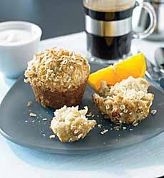 Banana Yogourt Muffins