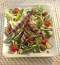 Lamb Spiedini Salad