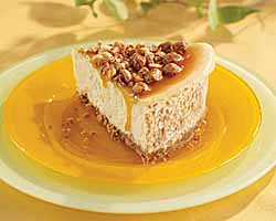 Peanut and Caramel Cheesecake