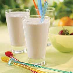 Strawberry Banana Yogurt Shake