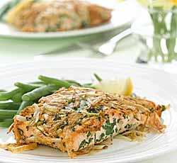 Ontario Potato-Crusted Salmon