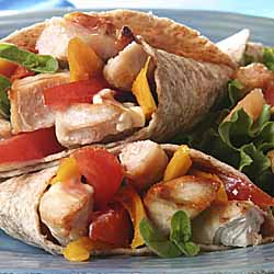 Autumn Turkey Wraps
