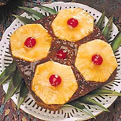 Pineapple Upside Down Gingerbread