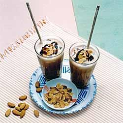 Almond Hot Chocolate & Chocolate Dipped Almonds