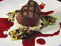 Blue Cheese Crusted Filet Mignon
