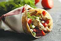 Zesty Chicken Wrap