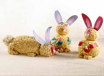 Rice Krispies Easter Bunnies