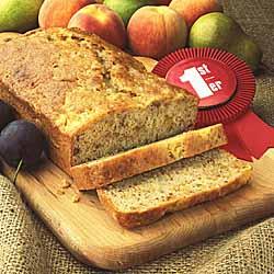 Ontario Tender Fruit Pecan Bread