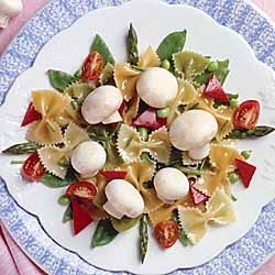 Mushroom and Pasta Salad Primavera