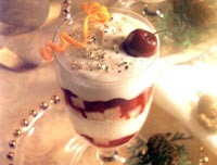 Cherry Cranberry Trifle