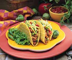 Terrific Turkey Tacos