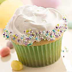 Aubrey's Favorite Cupcakes: Candy-Sprinkled Cupcakes