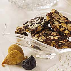 Dark Chocolate Bark with Figs and Nuts